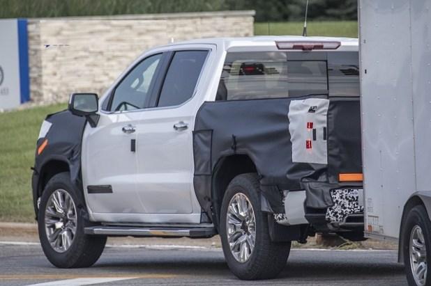 2023 GMC Sierra rear