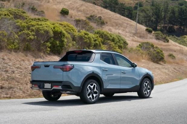 2023 Hyundai Santa Cruz rear