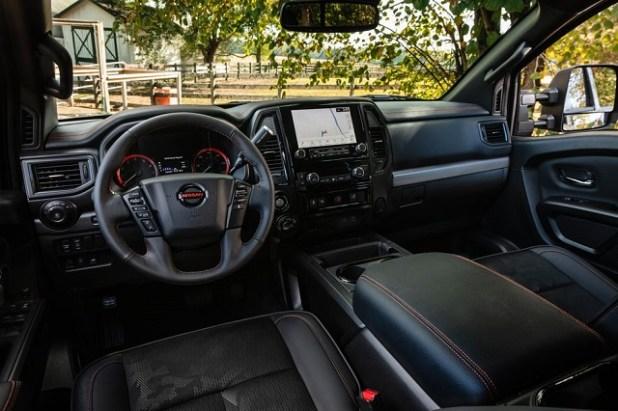 2023 Nissan Titan XD Pro-4x interior