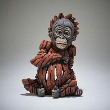 Edge Sculpture - Baby Orangutan