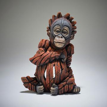 Edge Sculpture - Baby Orangutan