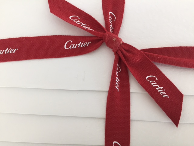 A really nice gift from Cartier was in our Goody Bag!
