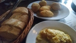 Tortilla and Ham and Cheese Croquettas