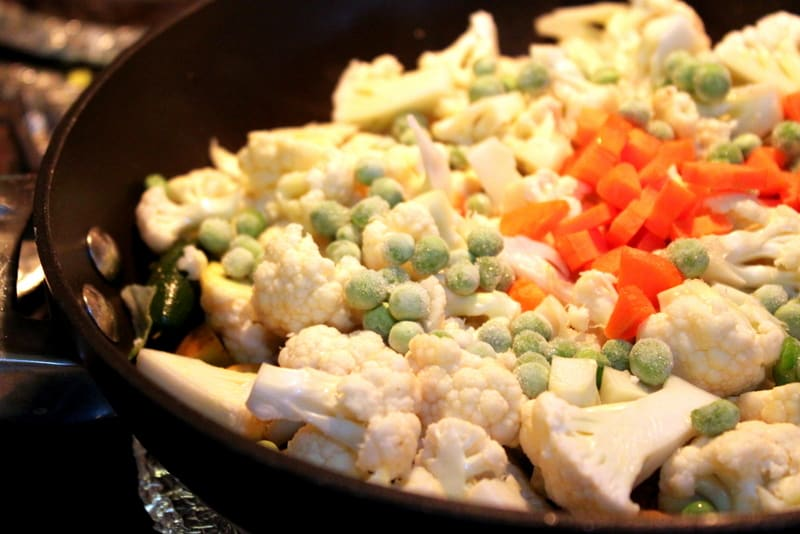 "Indian Cauliflower ""Sabji"" with Peas and Carrots - The ..."