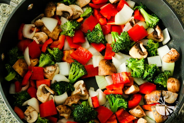 VG sweet and sour vegetable tofu-3