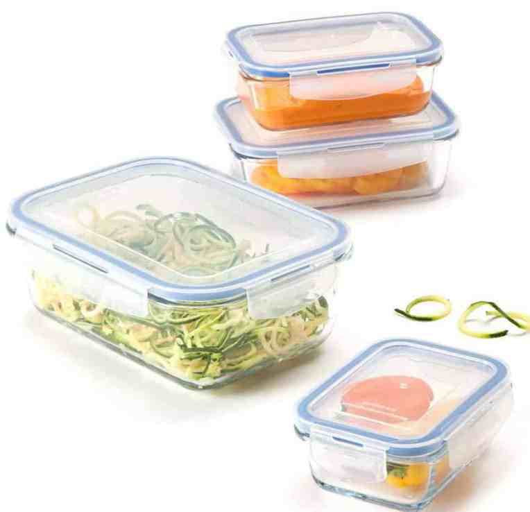 ReUseIt Glass Storage Containers