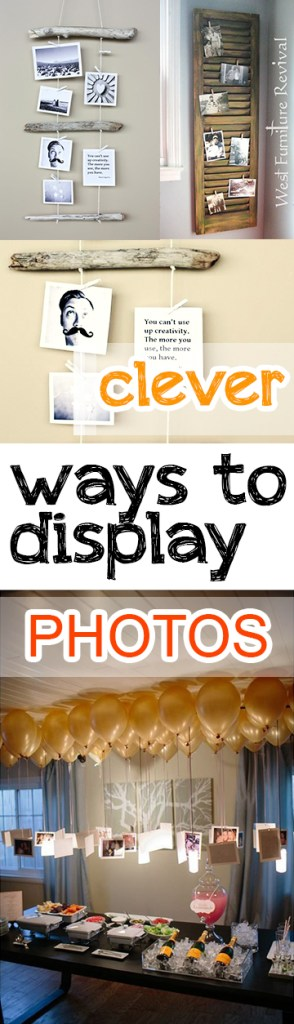 Clever Ways to Display Photos (1)