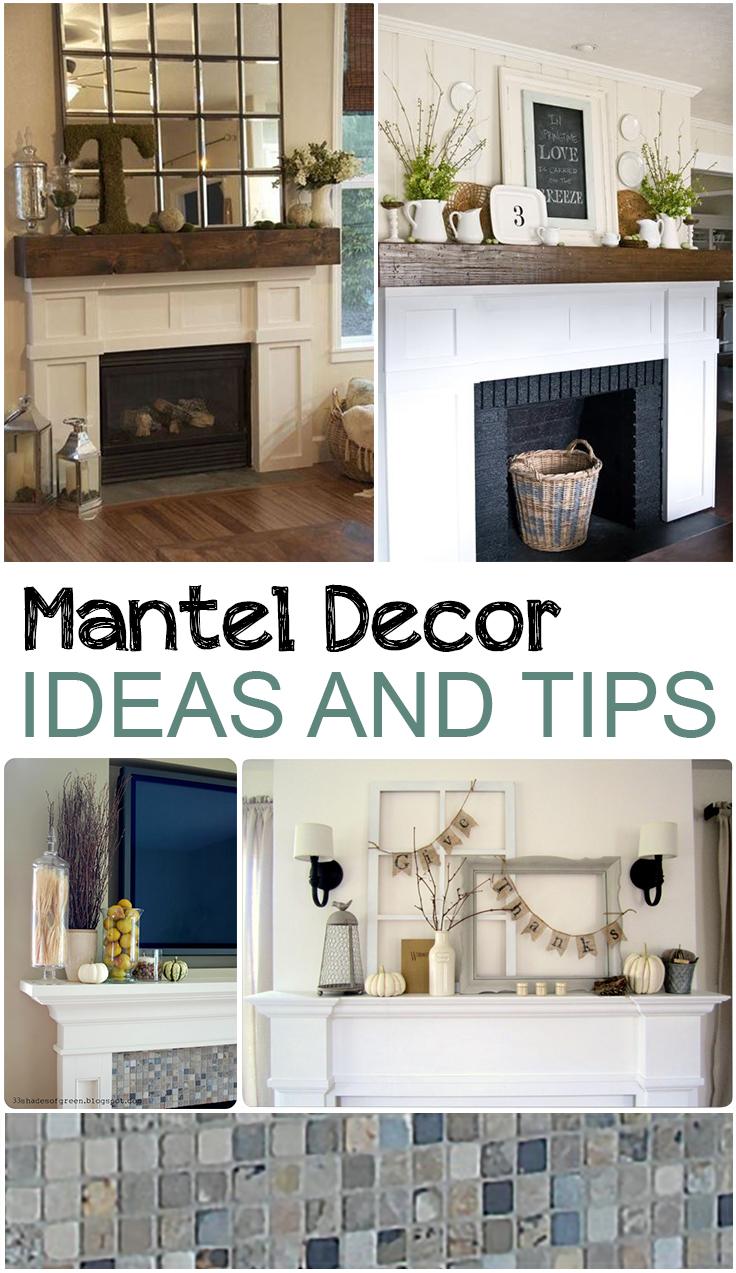 Mantel Decor Ideas and Tips - Picky Stitch