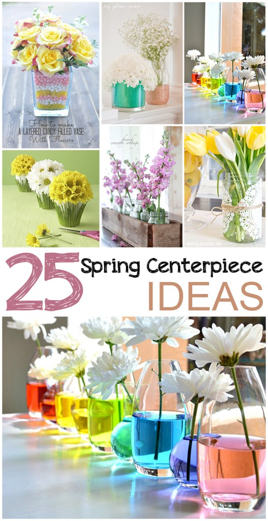 25 Spring Centerpiece Ideas