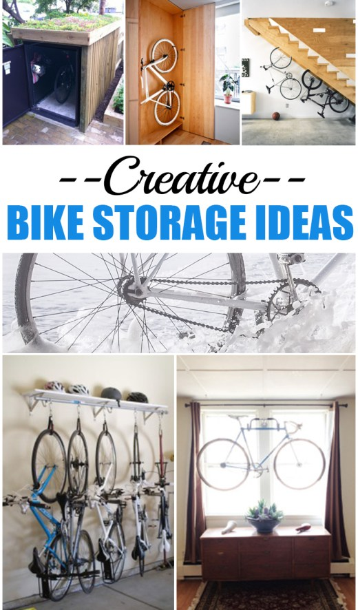 Creative Bike Storage Ideas