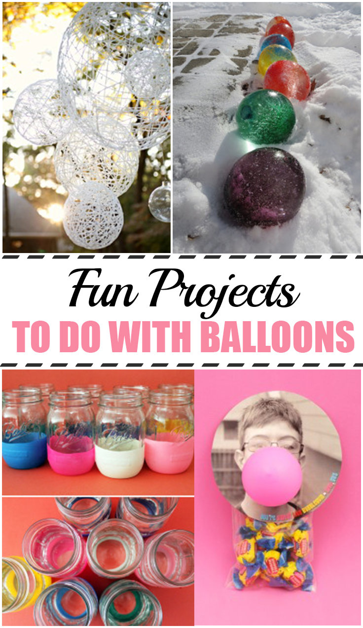 Fun Projects to Do with Balloons