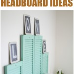 Upcycled DIY Headboard Ideas