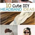 10 Cute DIY Headband Ideas
