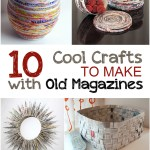 Creative Crafts to Make with Old Magazines| #Crafts, #MagazineCrafts, #MagazineCraftProjects, #EasyCrafts #DIYCrafts #DIYHomeDecor
