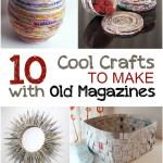 Creative Crafts to Make with Old Magazines| #Crafts, #MagazineCrafts, #MagazineCraftProjects, #EasyCrafts #DIYCrafts #DIYHomeDecor