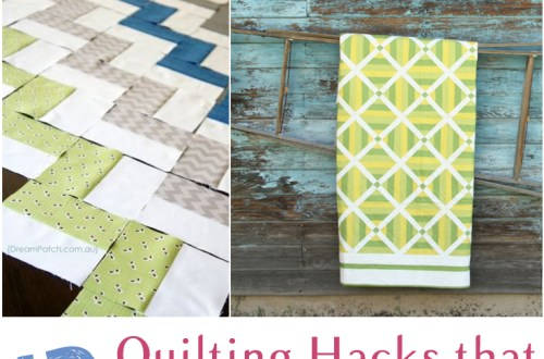 13 Quilting Hacks that will Make Quilting Easier