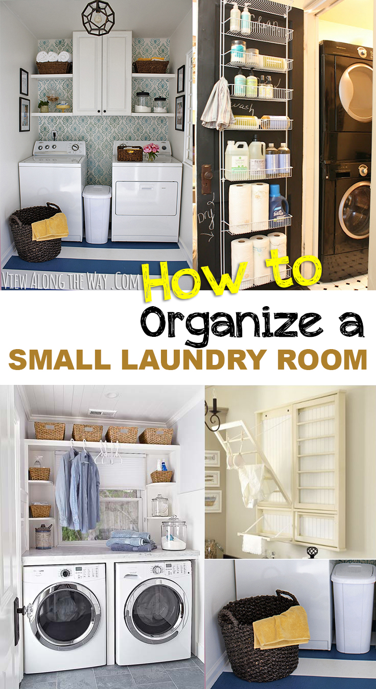 How to organize a small laundry room picky stitch Small room organization