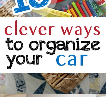 Here are some awesome ideas to clean and organize your car! #Organization #CarOrganization #CarCleaning #HomeOrganizationTips #Car #CarCleaningTipscar, popular pin, car cleaning, organization hacks, life hacks, life tips.