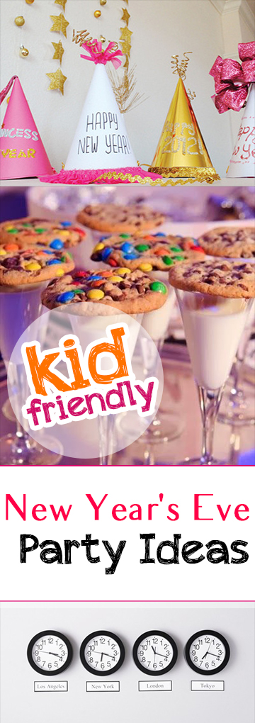 Kid Friendly New Year's Eve Party Ideas - Picky Stitch