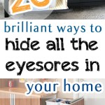 Home decor, DIY home decor, home improvement, popular pin, clutter free living, DIY organization, home organization.