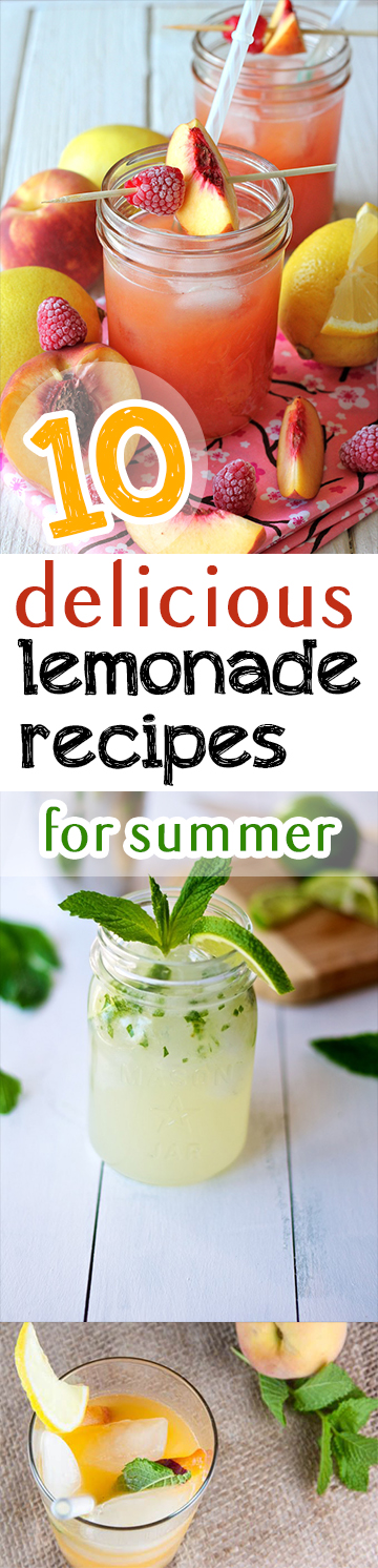 10 Delicious Lemonade Recipes for Summer (1)