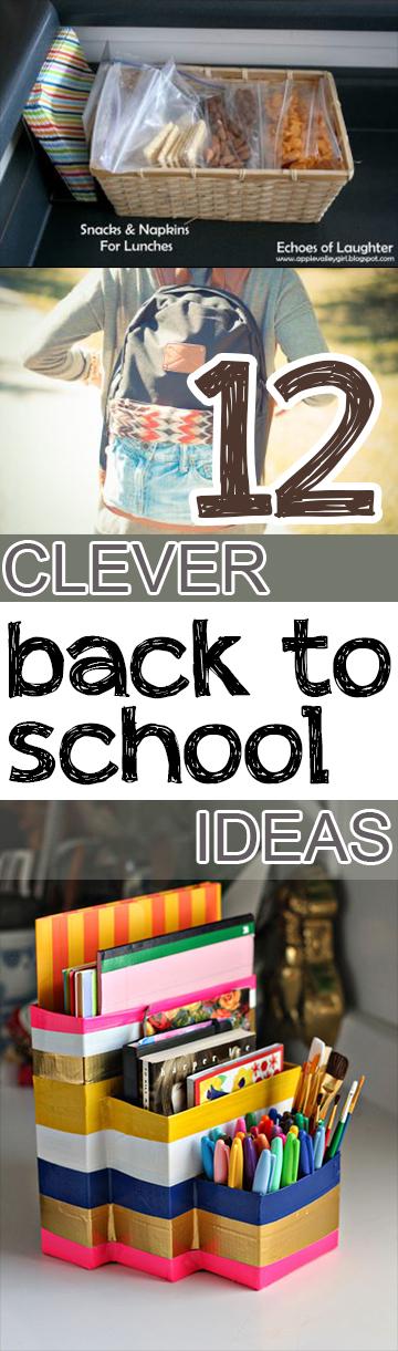 Back to school. back to school hacks, DIY back to school, popular pin, back to school organization.