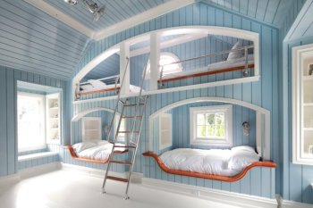 25 Incredible Shared Bedroom Ideas for your Kid17
