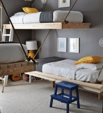 25 Incredible Shared Bedroom Ideas for your Kids13