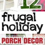 Holiday porch decor, porch decor ideas, DIY holiday decor, popular pin, Christmas decor, DIY home, Christmas, Christmas porch decor.