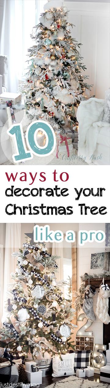 Christmas Tree Decorating, How to Decorate Your Christmas Tree, Decorating Hacks, Holiday Decor Ideas, Holiday Decor Tips and Tricks, Popular Pin, Christmas DIY, Christmas Tree Hacks