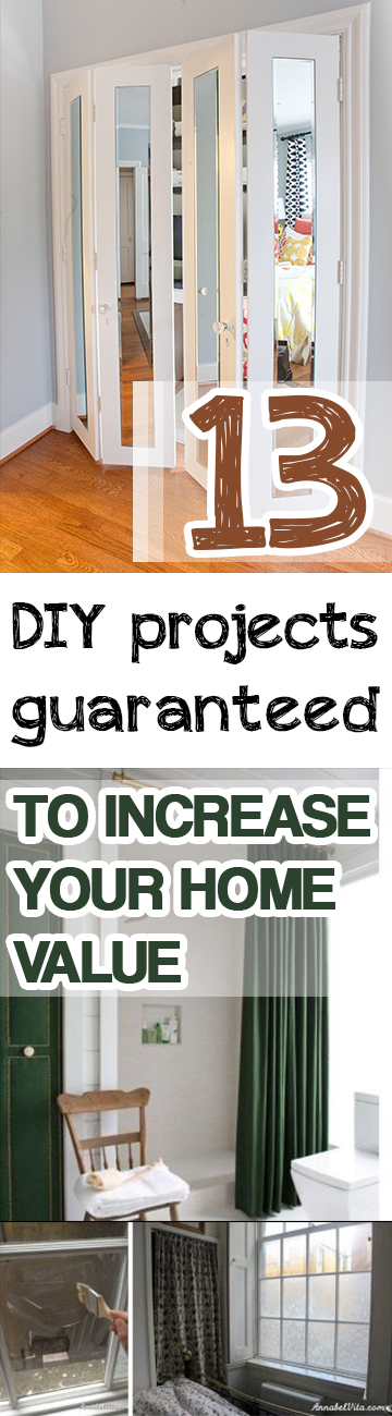 13 diy projects guaranteed to increase your home value for How to increase home value