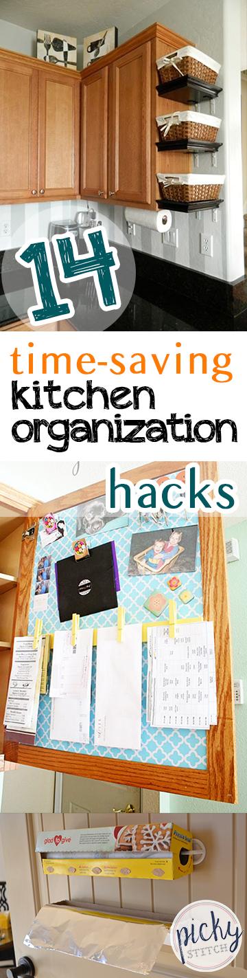 14 Time-Saving Kitchen Organization Hacks