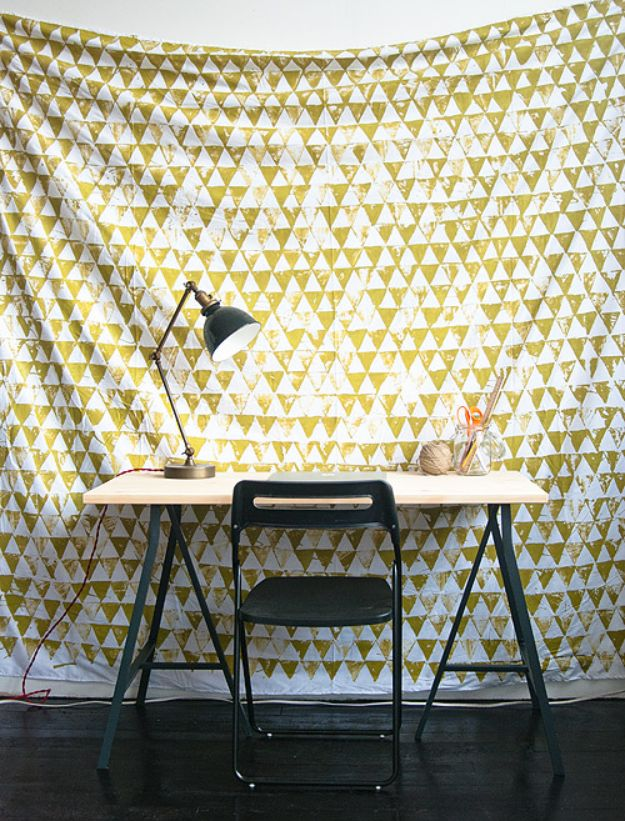 DIY-Geometric-Wall-Hanging
