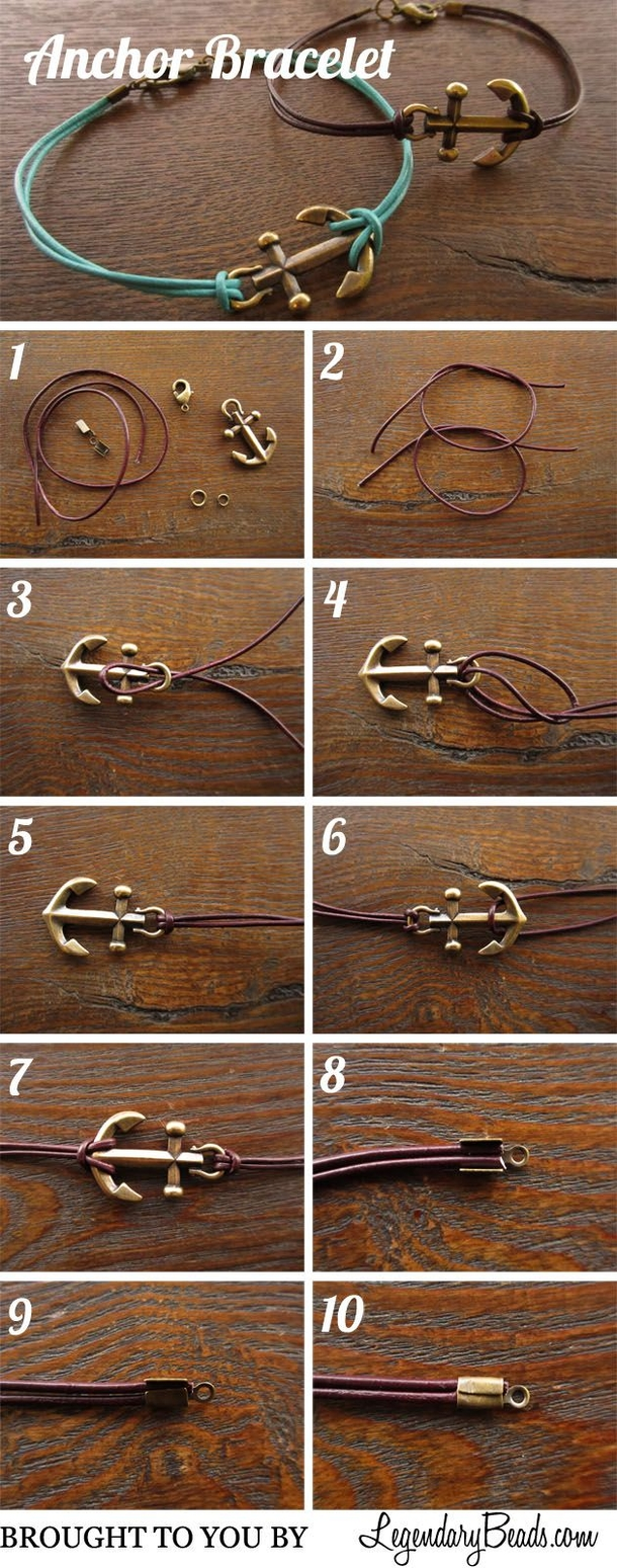12 Super Simple Homemade Bracelet Tutorials9