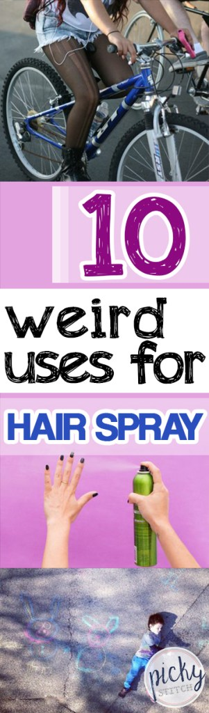 Uses for Hairspray, Weird Things to Do With Hairspray, Hairspray Hacks, Home Hacks, Life Hacks, Things to Do With Hairspray, Popular Pin
