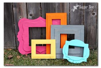 12 DIY Picture Frame Projects7