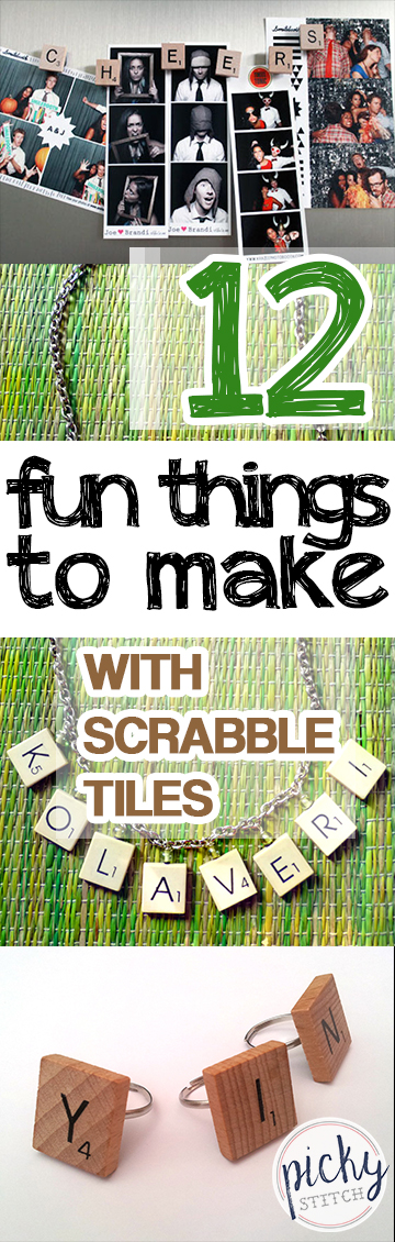 Scrabble, Things to Make With Scrabble Tiles, Scrabble Tile Crafts, Easy Craft Projects, Simple Craft Projects, Repurpose Projects, Things to Do With Old Scrabble TIles, DIY Home,Popular Pin