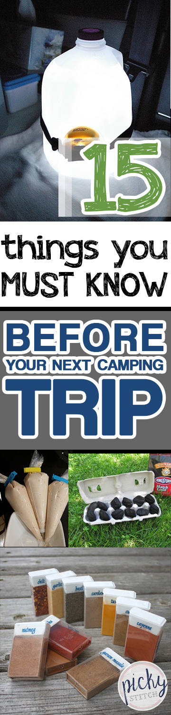 Camping Hacks, Camping TIps and Tricks, Must Know Camping Tips, Outdoor Adventure, Outdoor Adventure Tips, Life Hacks, Tips and Tricks, Popular Pin