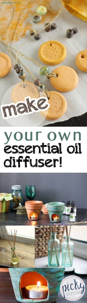 Make Your Own Essential Oil Diffuser! - Essential Oils, DIY Essential Oil Diffuser, Homemade Essential Oil Diffusers, How to Make Your Own Essential Oil Diffuser, Essential Oils, Essential Oil Hacks, Popular Pin