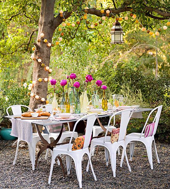 11 Cheap Backyard DIY Projects • Picky Stitch on Diy Backyard Patio Cheap id=20038