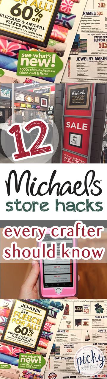 How to Save Money at Micahels, Saving Money on Craft Supplies, How to Save Money on Craft Supplies, Shopping Hacks, Shopping and Budgeting Hacks, Michaels Store Hacks, Crafting, Crafting Hacks