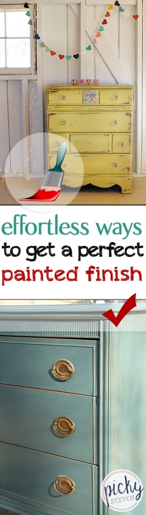 Effortless Ways To Get A Perfect Painted Finish| Painted Furniture, How to Paint Your Furniture, Painted Furniture Projects, DIY Home, Home Projects, Painted Furniture Tips and Tricks, How to Paint Your Furniture, Popular Pin