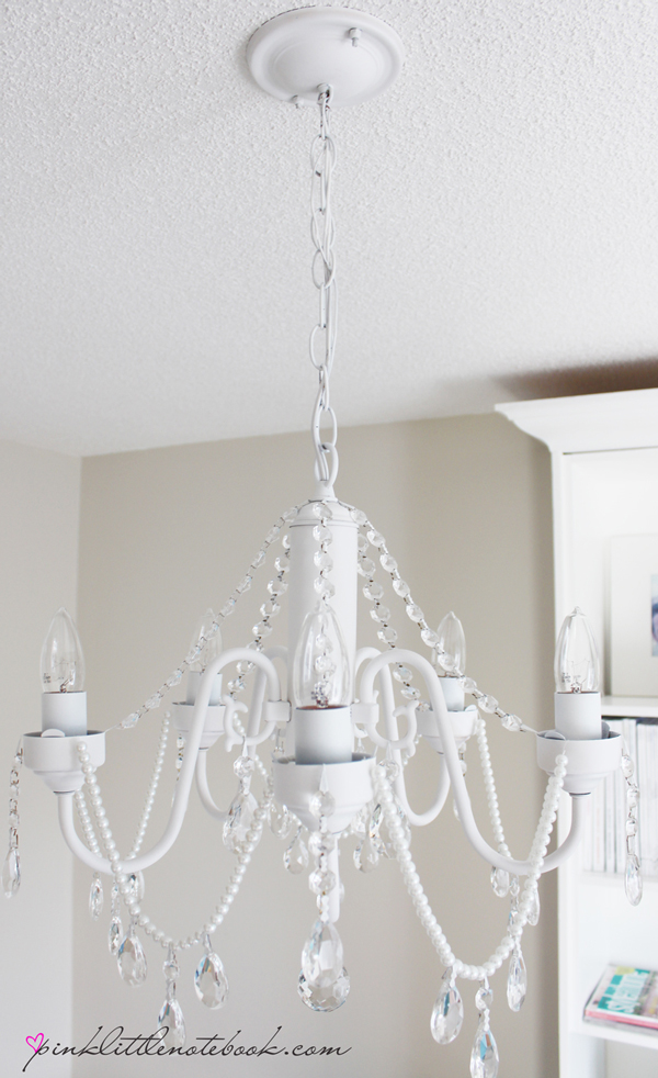 How to make your own diy crystal chandelier picky stitch for Build your own chandelier