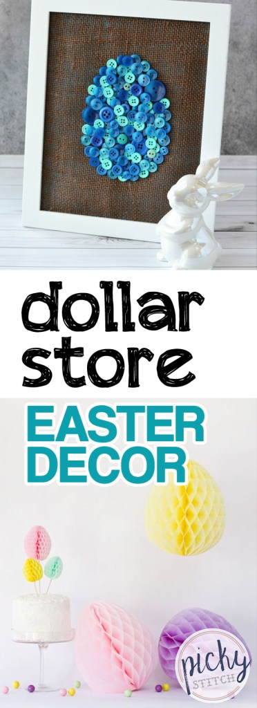 Dollar Store Easter Decor| Dollar Store, Dollar Store Easter Decor, Easter Decor, DIY Easter Decor, Dollar Store Decor, Spring Decor, Cheap Easter, Inexpensive Easter Decor, Popular Pin #EasterDecor #DollarStore #DIY #Spring