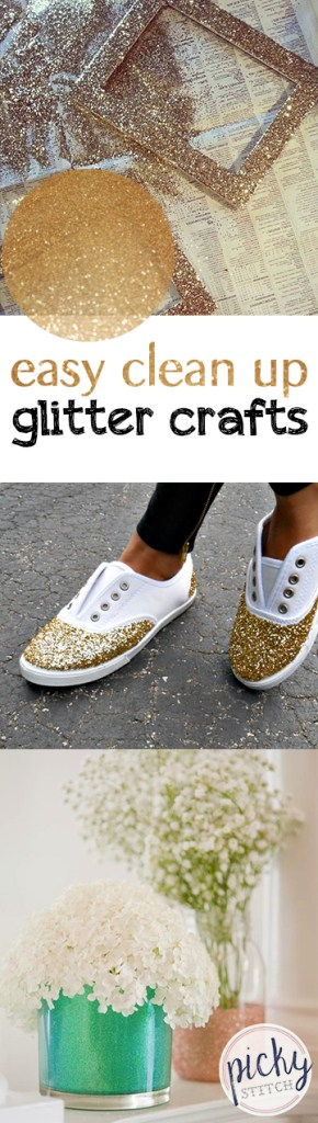 Easy Clean Up Glitter Crafts| Clean Glitter Crafts, Crafts, DIY Glitter, Glitter Craft Projects, Craft Projects, Simple Crafts,Glitter #GlitterDIYs #DIYCrafts