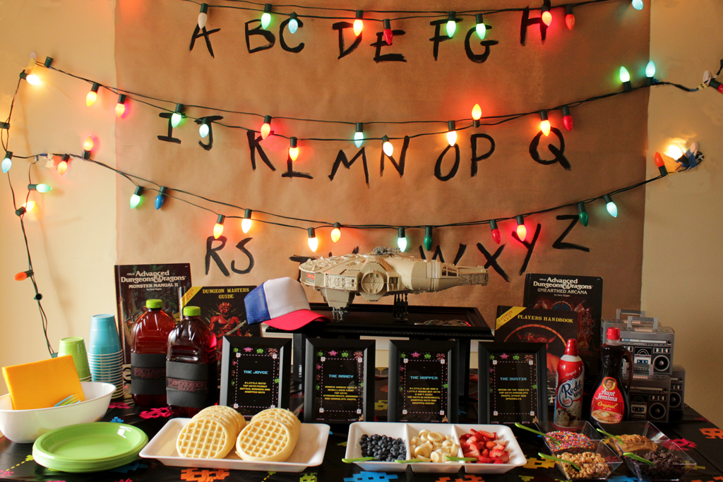 11 Stranger Things Themed Party Ideas Picky Stitch