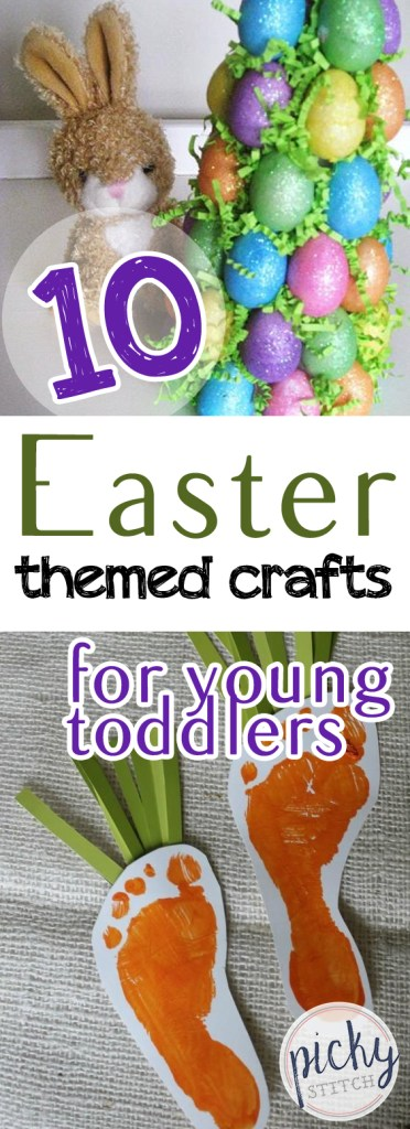 10 Easter Themed Crafts for Young Toddlers| Easter Crafts, DIY Crafts, Crafts for Kids, Holiday Crafts for Kids, DIY Holiday Crafts, Kid Stuff, Easter Crafts, Easter Crafts for Kids, Toddler Crafts, Toddler Crafts for Kids, Popular Pin #Easter #EasterCraftsforKids #EasterDIY #ToddlerCrafts