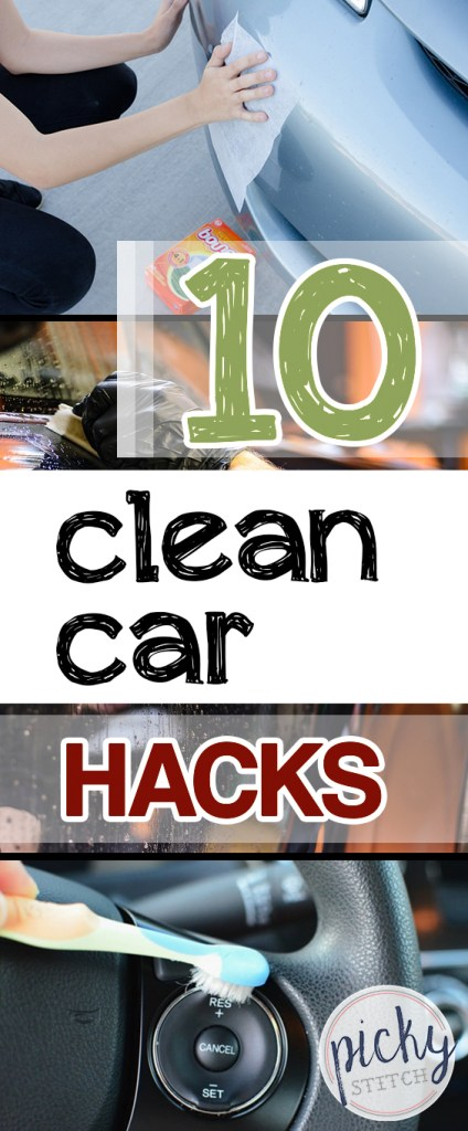 10 Clean Car Hacks| DIY Ideas, Car Cleaning Hacks, Car Cleaning Tips, Clean Car Hacks, Car Cleaning, Cleaning, Cleaning Ideas