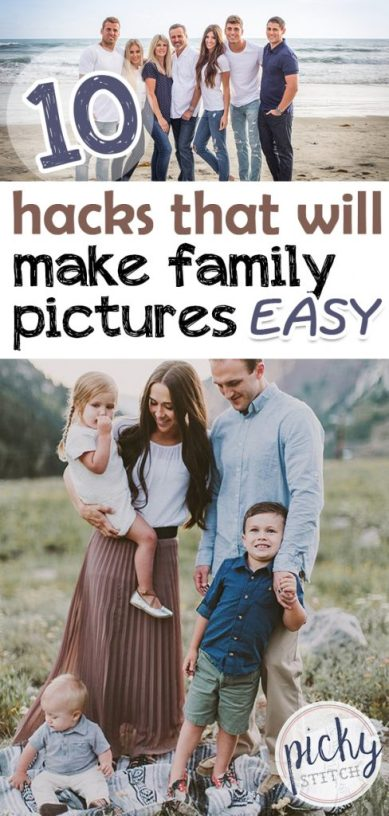 family pictures, hacks for family pictures, easy hacks for family pictures, hacks to make family pictures easy, family pictures tips and tricks