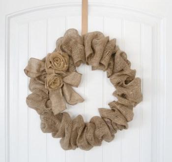 Burlap Fall Wreaths | Fall Wreaths | Fall Front Porch Decor | Fall Decorations with Burlap | Burlap | Burlap for Fall Decorations | Fall Decorations